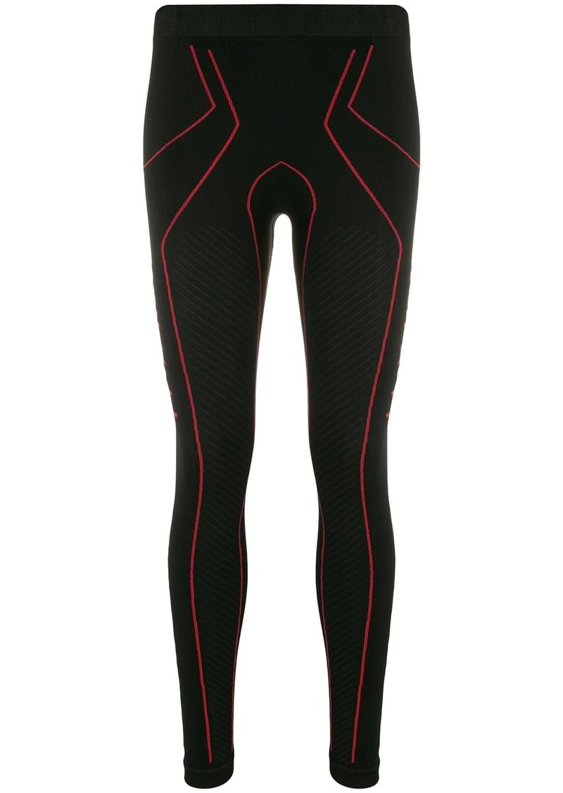Ben Taverniti Unravel Project textured jersey leggings