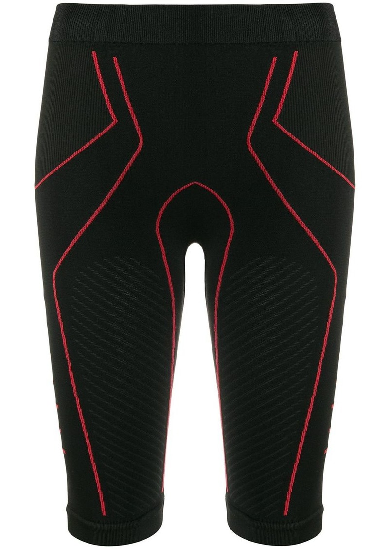 Ben Taverniti Unravel Project textured jersey shorts