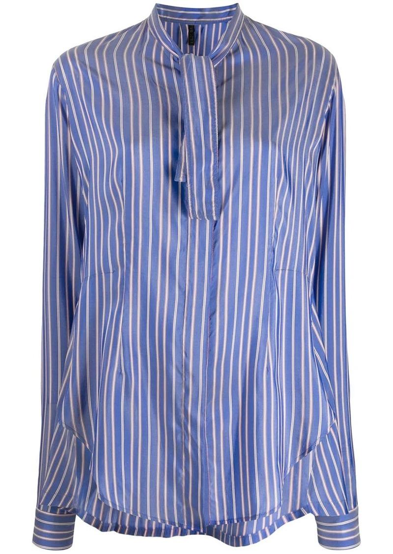 Ben Taverniti Unravel Project tie neck shirt