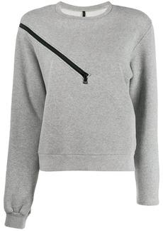 Ben Taverniti Unravel Project zipper shoulder sweater