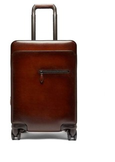 Berluti Formula 1004 Venezia-leather cabin suitcase