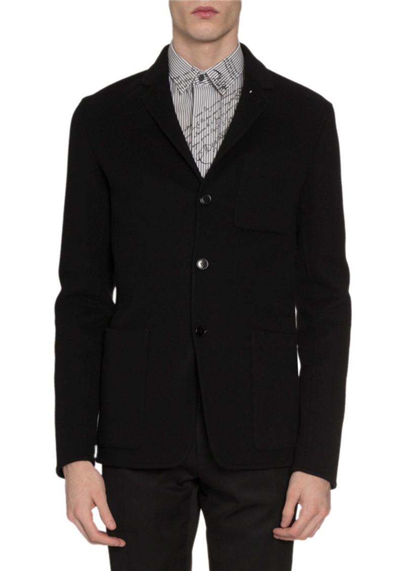 Berluti Men's Button-Front Cashmere Jacket