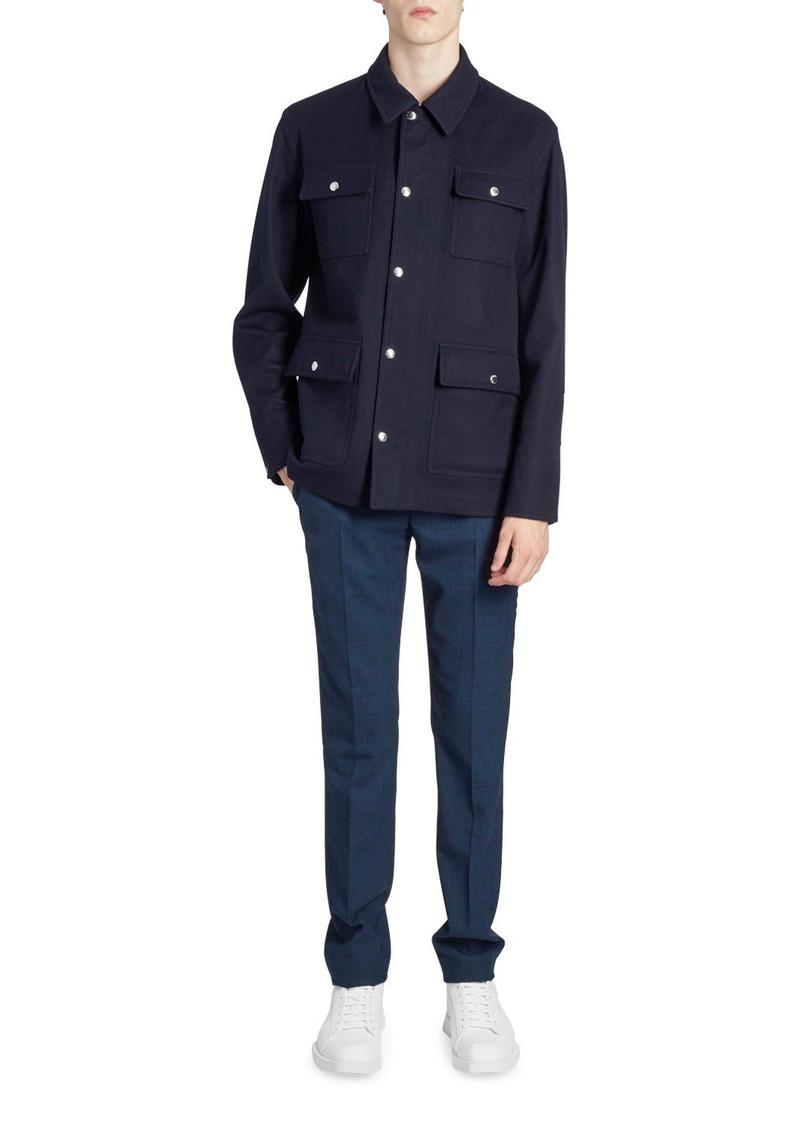 Berluti Men's Cashmere Field Jacket