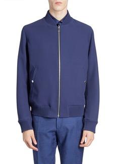 Berluti Men's Reversible Wool Knit Bomber Jacket
