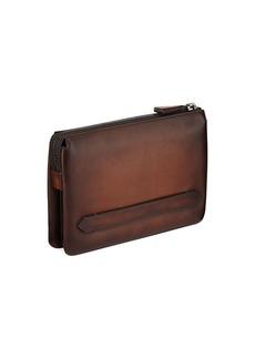 Berluti Men's Tersio Venezia Leather Pouch