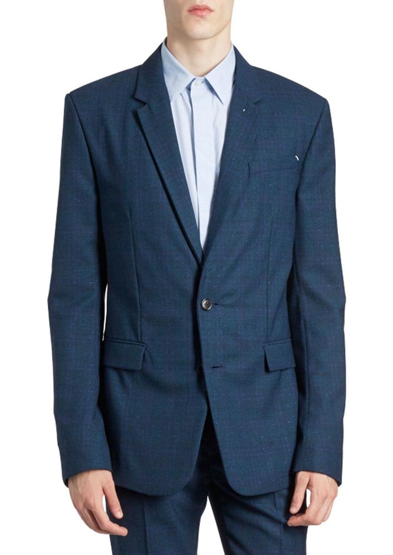 Berluti Men's Tonal Textured Two-Button Jacket