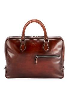 Berluti Men's Venezia Mogano Leather Briefcase