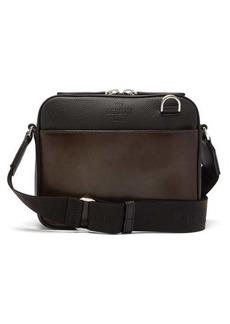 Berluti Patinated Venezia-leather cross-body bag