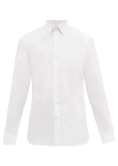 Berluti Tailored cotton-poplin shirt