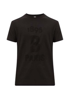 Berluti Terry-logo cotton-jersey T-shirt