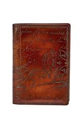 Berluti Jagua Scritto Leather Card Case