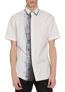Berluti Men's Smoke-Print Short-Sleeve Sport Shirt