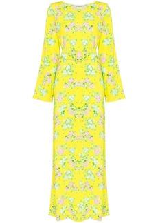 BERNADETTE Monica floral print maxi dress