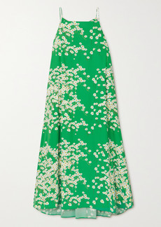 BERNADETTE Audrey Floral-print Stretch-cotton Maxi Dress
