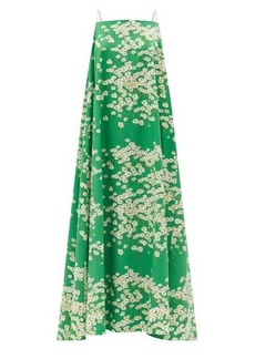 Bernadette Audrey Daisyfield-print cotton-blend maxi dress