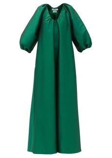 Bernadette George balloon-sleeve taffeta dress