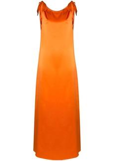 BERNADETTE draped maxi dress