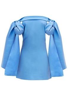 Bernadette Timothy off-the-shoulder taffeta mini dress