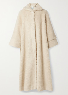 BERNADETTE Harrold Oversized Faux Shearling Coat