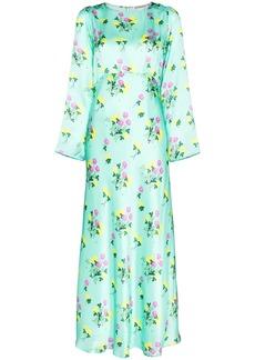 BERNADETTE Jane floral-print silk dress