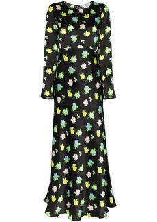 BERNADETTE Jane long-sleeved maxi dress