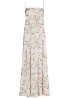 BERNADETTE Jules floral-print maxi dress