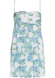 BERNADETTE Jules floral-print minidress