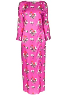 BERNADETTE Kelly floral print midi dress
