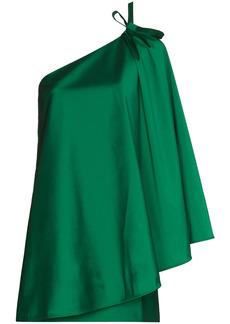 BERNADETTE one-shoulder minidress