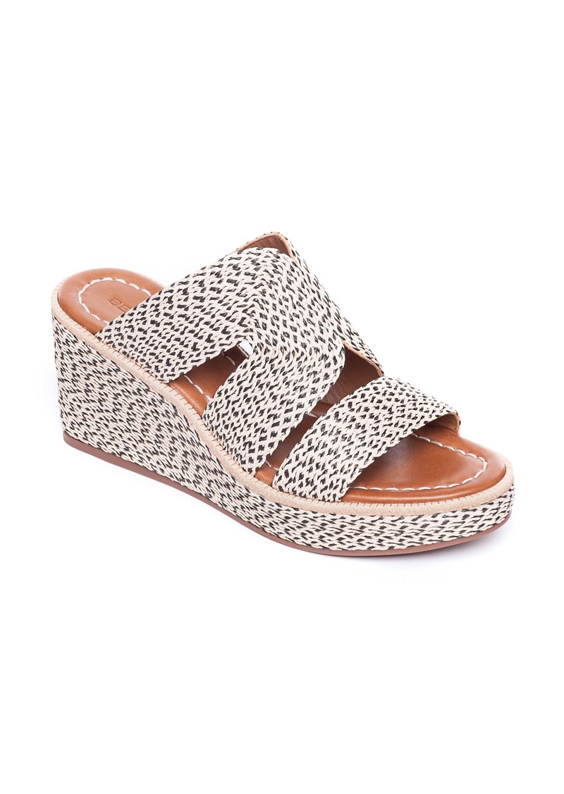 Bernardo Bernado Kaia Wedge Slide Sandal (Women)