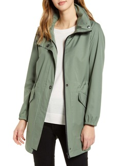 Bernardo Back Bow Hooded Windproof & Water Resistant Raincoat