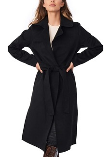 Bernardo Belted Long Coat