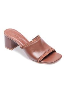 Bernardo Blossom Fringe Slide Sandals