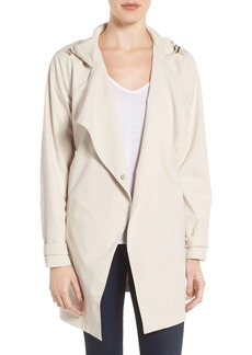 Bernardo Breathable Microfiber Trench Coat