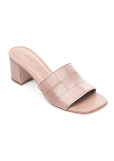 Bernardo Bridget Leather Slides