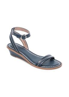 Bernardo Catherine Leather Wedge Sandals