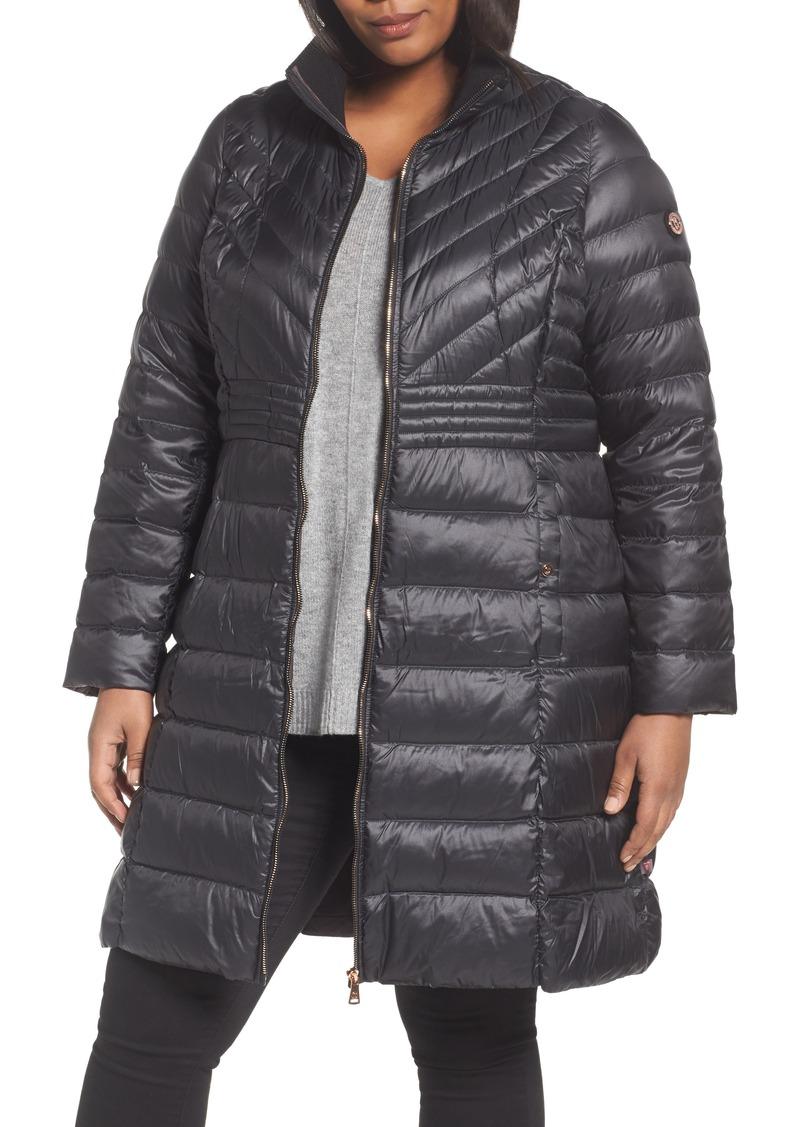 b8d7a9de8f3 Bernardo Bernardo Down   PrimaLoft® Coat (Plus Size)
