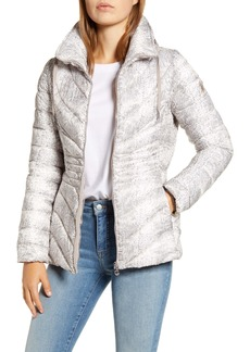 Bernardo Down & EcoPlume Hooded Puffer Jacket