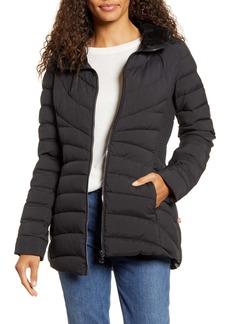 Bernardo Down & PrimaLoft® Walker Jacket with Faux Fur Trim
