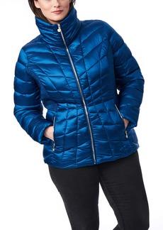 Bernardo Ecoplume™ Lust Packable Icon Jacket (Plus Size)