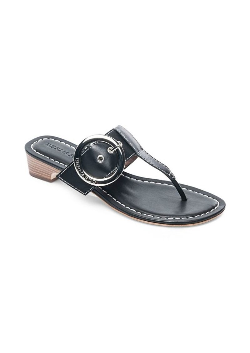 2b64e68b7497c Bernardo Bernardo Grace Leather Thong Sandals