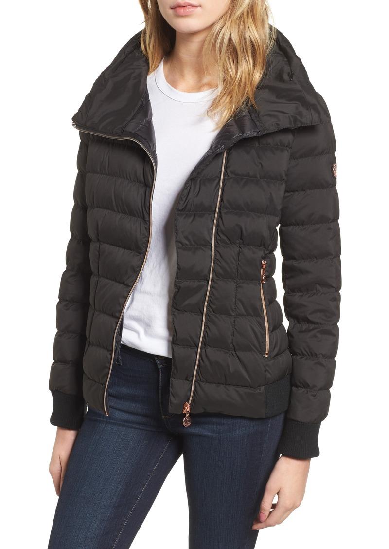 c6fbb7fc993 Bernardo Bernardo Hooded Packable Down & PrimaLoft® Coat | Outerwear
