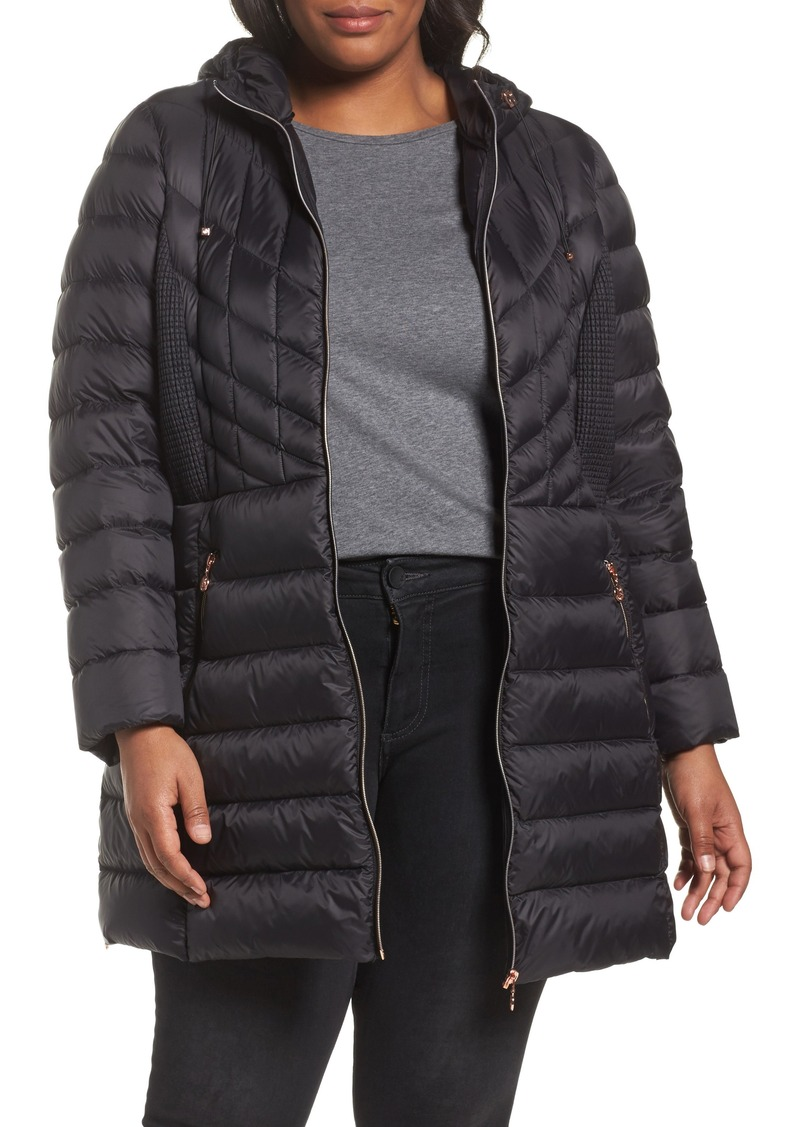 30fe464ad7a SALE! Bernardo Bernardo Hooded Packable Down & PrimaLoft® Coat (Plus ...