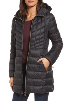 Bernardo Hooded Packable Down & PrimaLoft® Coat (Regular & Petite)