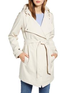Bernardo Hooded Trench Coat