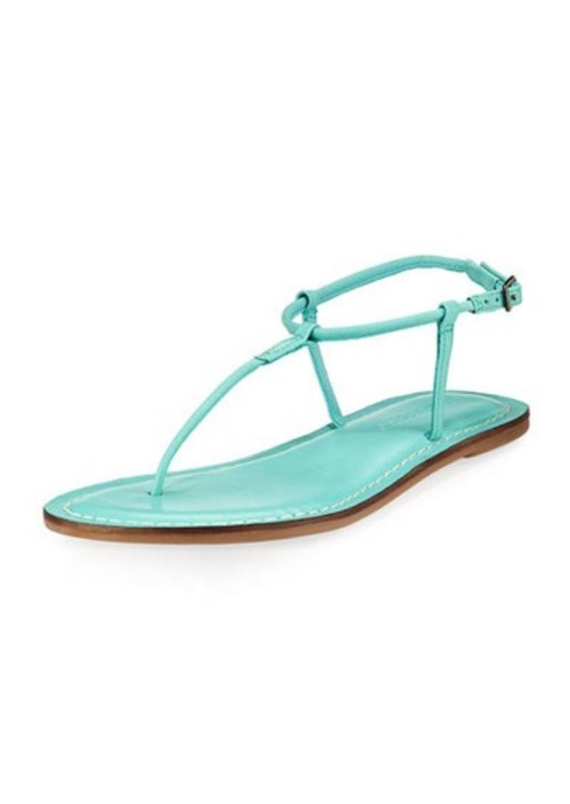 061aa08274a SALE! Bernardo Bernardo Lily Thin T-Strap Flat Sandal