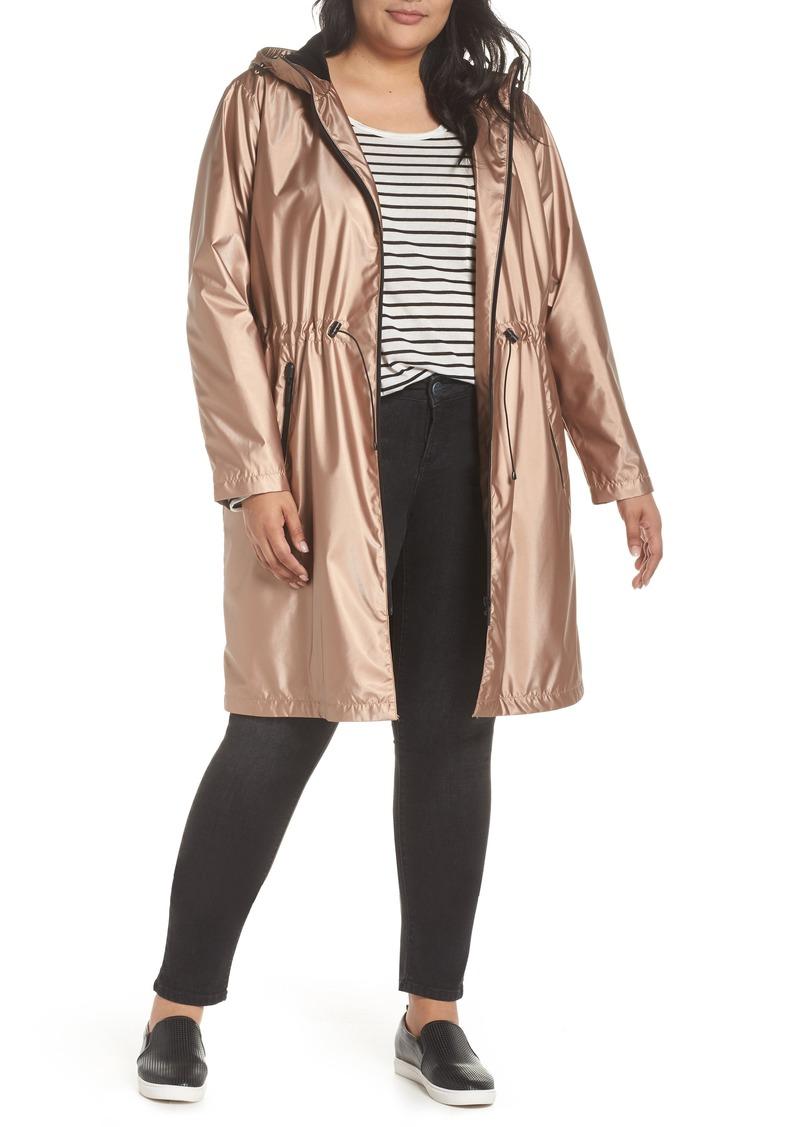 1c205a6dc4a Bernardo Bernardo Metallic Rain Jacket (Plus Size)