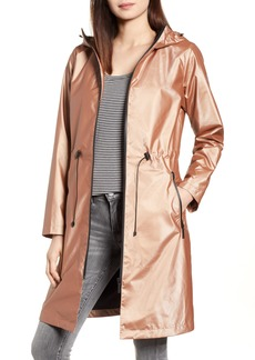 Bernardo Metallic Rain Jacket (Regular & Petite)
