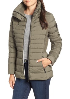 Bernardo Micro Touch Water Resistant Quilted Jacket (Regular & Petite)