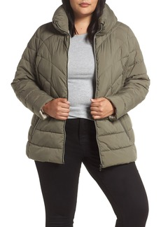 Bernardo Microtouch Jacket (Plus Size)